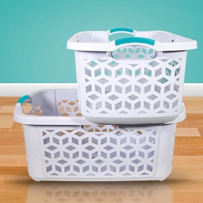 Home Logic Stacking Basket White - Room Essentials™
