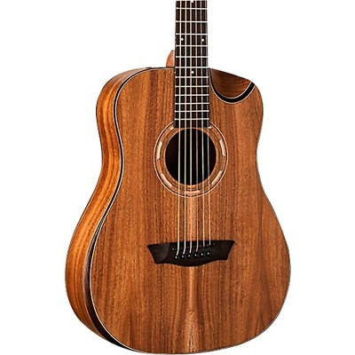 Washburn WCGM55K Comfort Mini Grand Auditorium Acoustic Guitar Natural