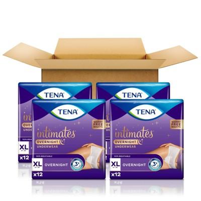 TENA Incontinence Underwear - Overnight - XL - 48ct