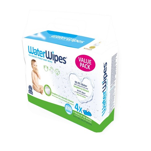WaterWipes Baby Wipes Soapberry- 240ct - image 1 of 1