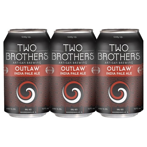 Two Brothers® Outlaw IPA - 6pk / 12oz Cans - image 1 of 1
