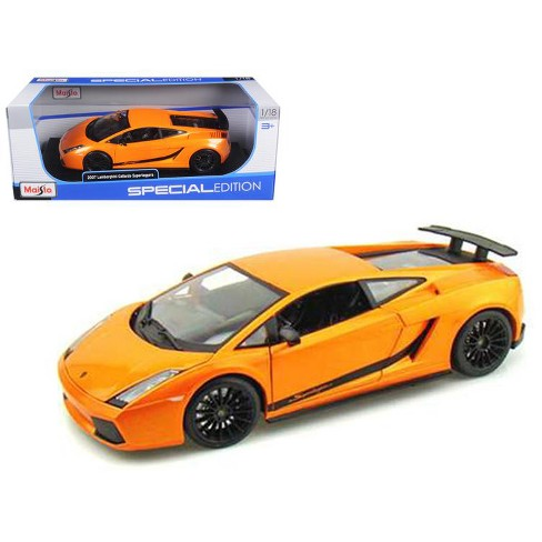 2007 Lamborghini Gallardo Superleggera Orange 1 18 Diecast Model Car