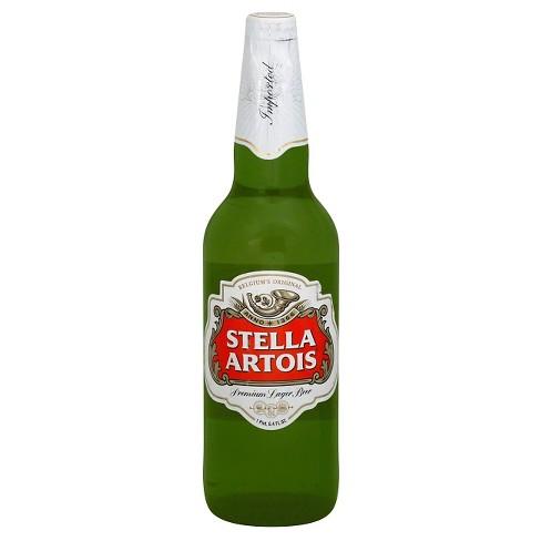 Stella Artois Belgian Ale Beer - 22.4 fl oz Bottle - image 1 of 1