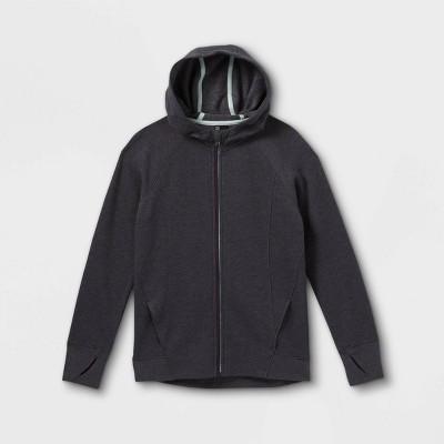 Girls' Fleece Full Zip Hoodie - All in Motion™