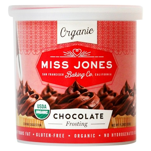 Miss Jones® Organic Chocolate Frosting - 11.2oz - image 1 of 1