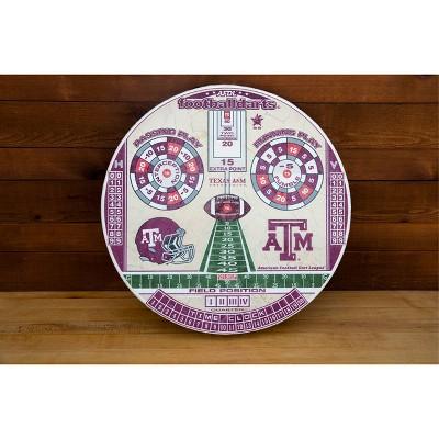 NCAA Texas A&M Aggies Official Football Dartboard
