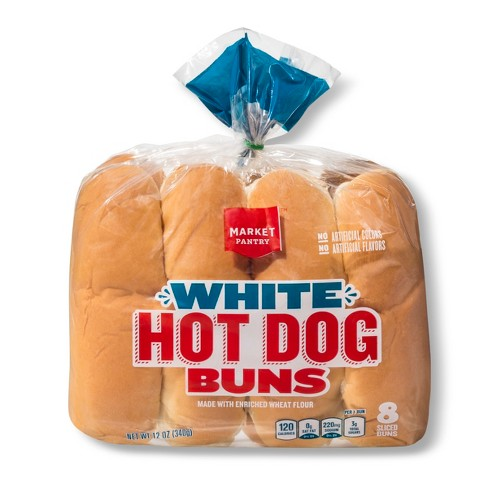Hot Dog Buns - 8ct - Market Pantry™ - image 1 of 1