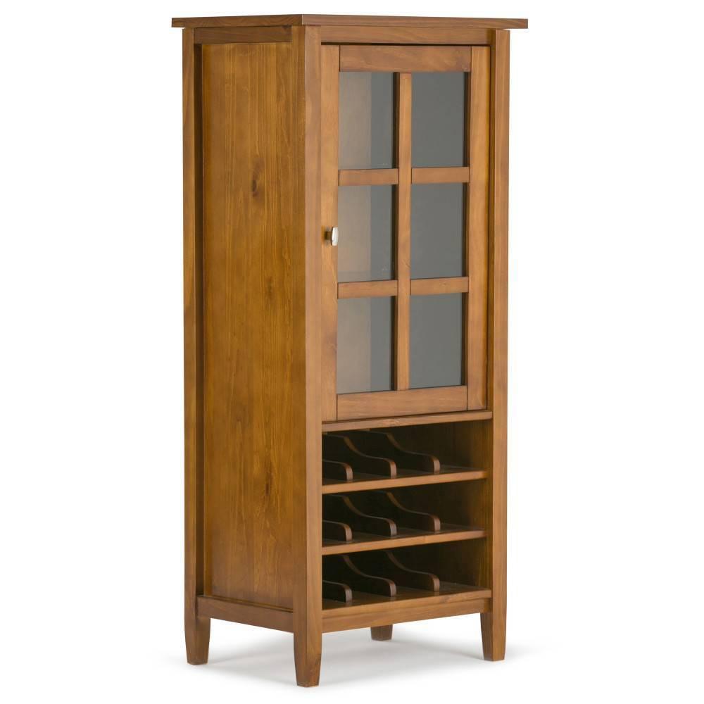 """Image of """"23"""""""" Norfolk High Storage Wine Rack Light Golden Brown - Wyndenhall"""""""