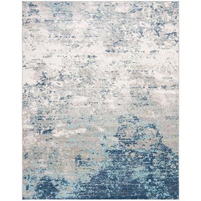 9'x12' Matilde Rug Light Gray/Blue - Safavieh