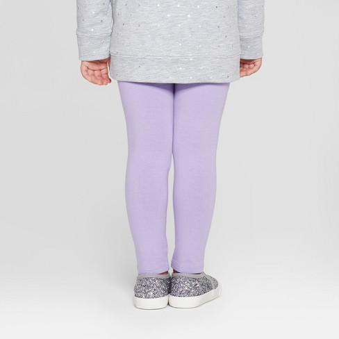 0b169049 Toddler Girls' Leggings - Cat & Jack™ Hushed Violet 2T : Target
