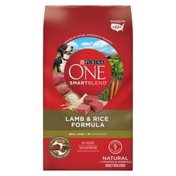 Purina® ONE SmartBlend Lamb & Rice Formula Adult Premium Dry Dog Food