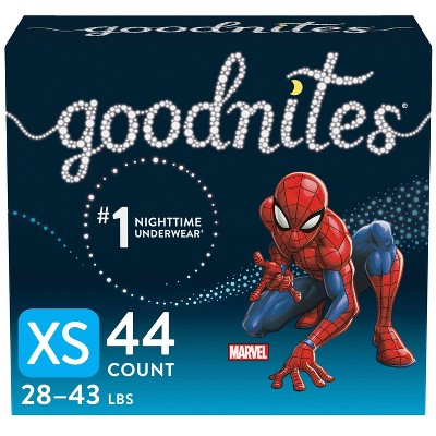 GoodNites Boys' Nighttime Bedwetting Underwear - (Select Size and Count)
