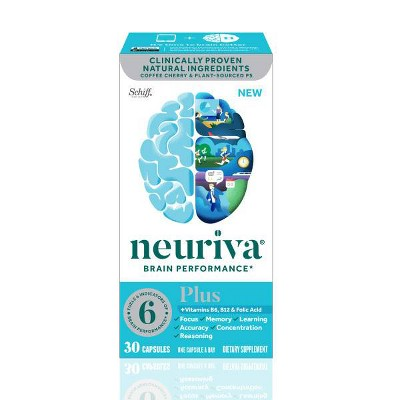 Neuriva Plus Brain Performance Capsules - 30ct