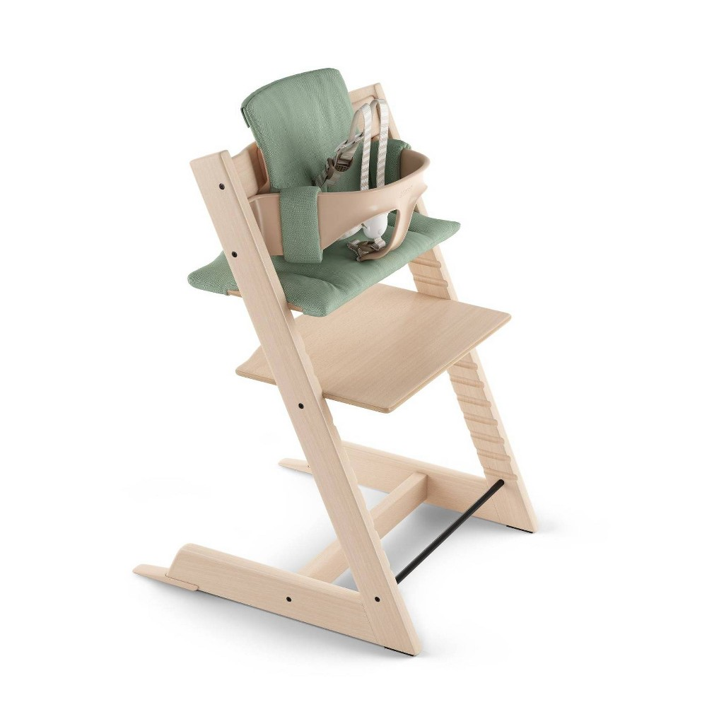 Image of Stokke Tripp Trapp High Chair Cushion - Timeless Green