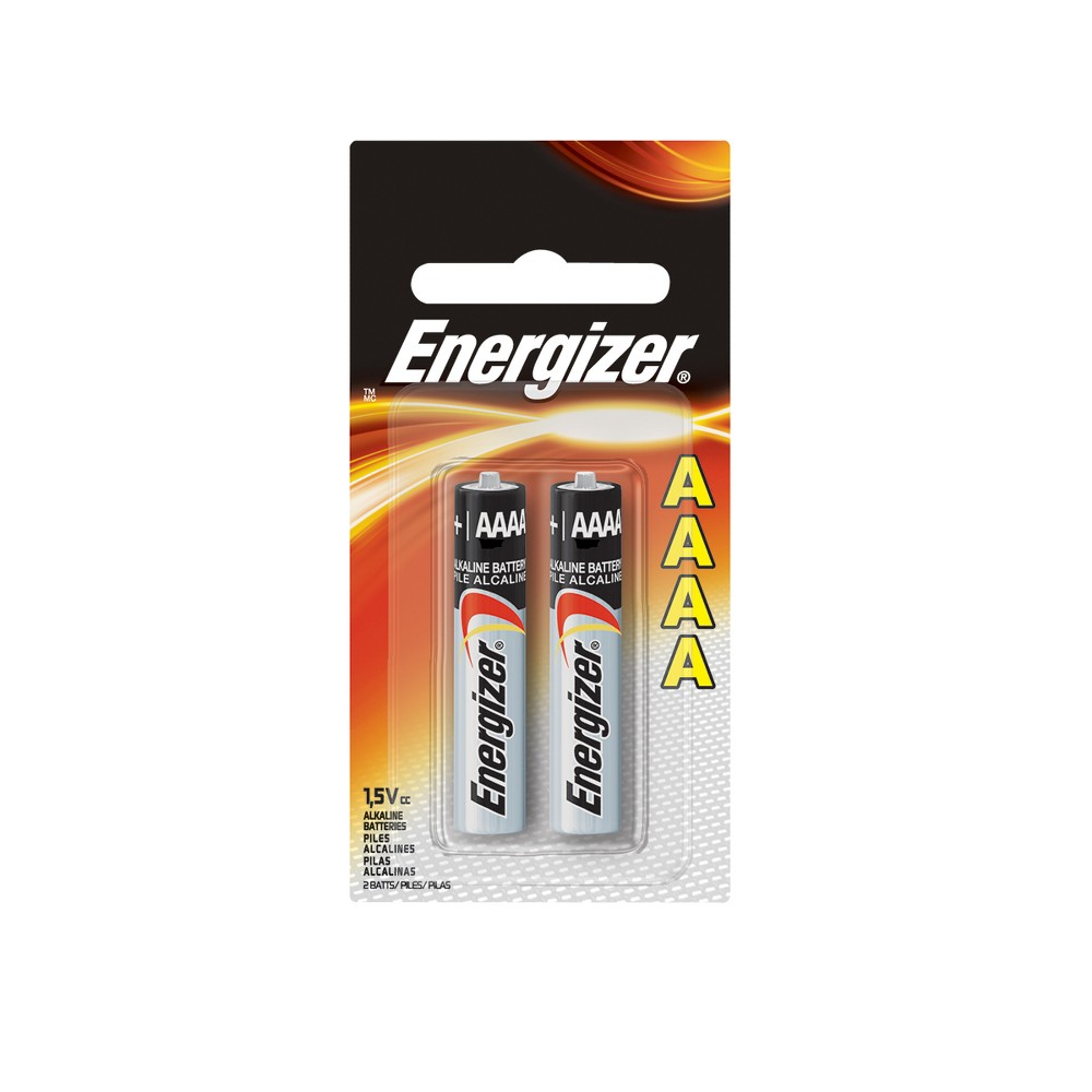 Energizer Max Aaaa Batteries 2ct - E96BP-2, Multi-Colored
