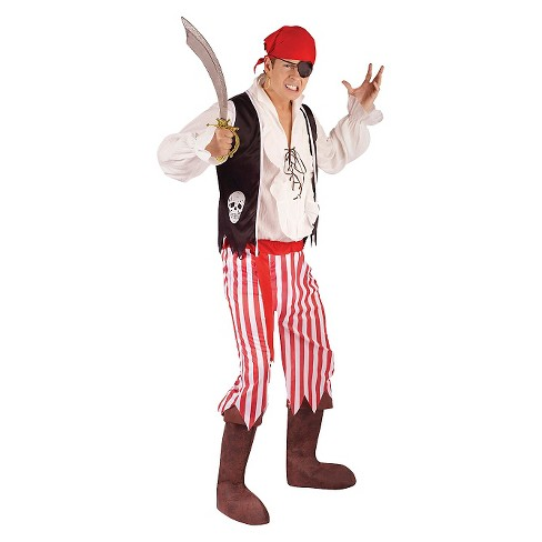 Pirate Costume Men's One Size Fits Most - image 1 of 1
