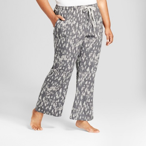 652282fb1d27f Women s Plus Size Pajama Pants - Gilligan   O Malley™ Anchor Gray 1X ...