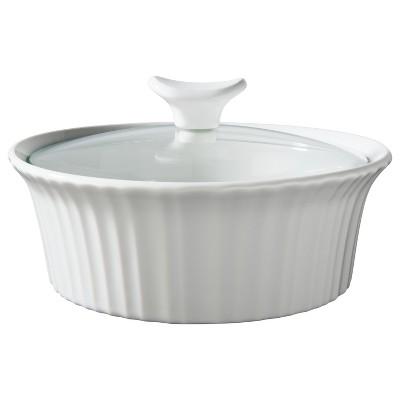 CorningWare 1 1/2 Quart Ceramic Baking Dish - White