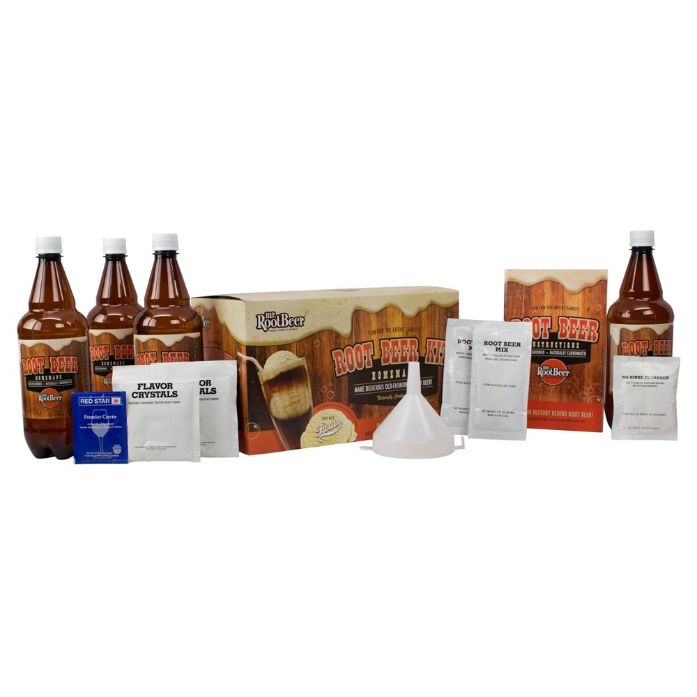 Image of Mr. Root Beer Kit, home brewing kits
