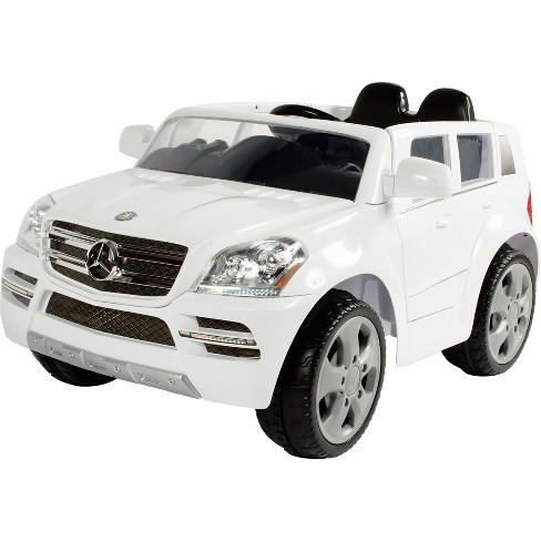 Rollplay Kids Ride On 6v Mercedes Benz Gl450 Suv White Target