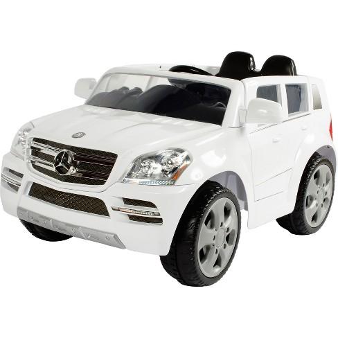 White Mercedes Benz >> Rollplay Kids Ride On 6v Mercedes Benz Gl450 Suv White