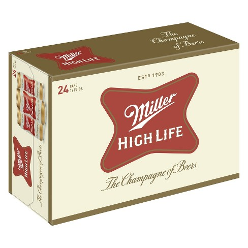 Miller High Life® Beer - 24pk / 12oz Cans - image 1 of 1