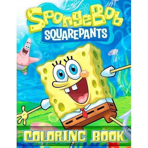 Spongebob Squarepants Coloring Book - by Paradise Books (Paperback)
