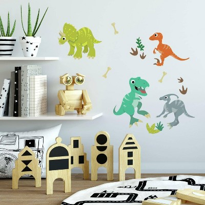 Friendly Dinosaur Peel and Stick Wall Decal - RoomMates