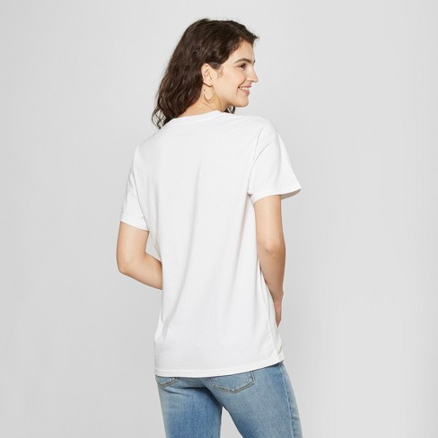 0ce021c0 Women's Short Sleeve Girls' Run Thangs Boyfriend Graphic T-Shirt ...