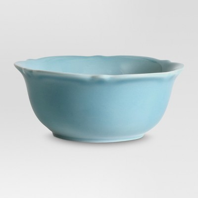 Wellsbridge Ceramic Cereal Bowl 34oz Blue - Threshold™