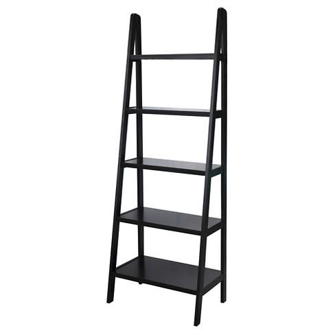 72 5 Shelf Ladder Bookcase