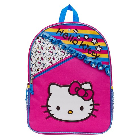 "Hello Kitty 16"" Ruffles Kids' Backpack - Pink - image 1 of 3"