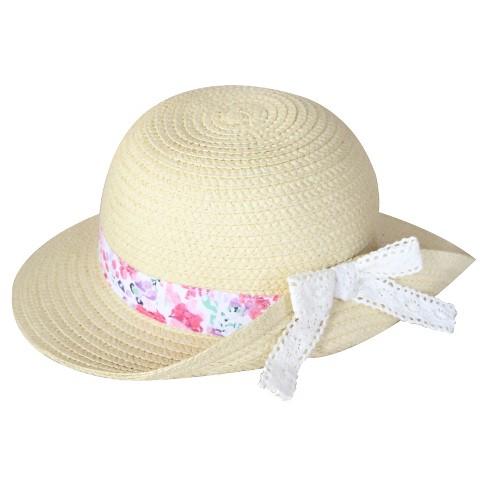 Toddler Girls  Floppy Hat Natural   Target f6c6e995a9d