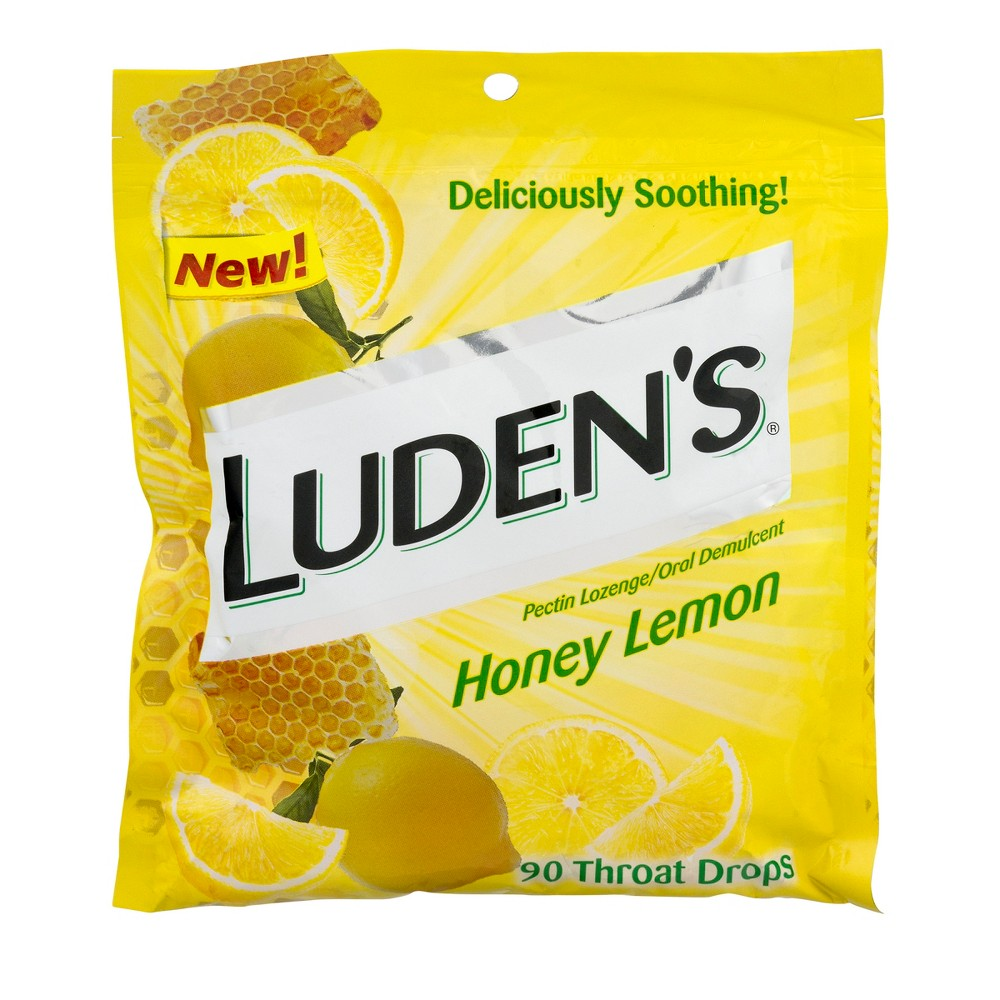 Luden's Throat Drops - Honey Lemon - 90ct