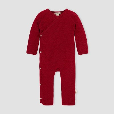 Burt's Bees Baby® Baby Organic Cotton Quilted Kimono Jumpsuit - Pink 3M