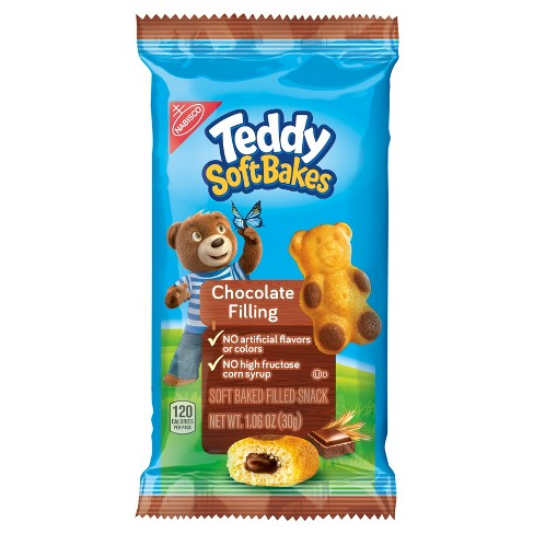 Teddy SoftBakes Snacks Chocolate Filling - 1.06oz - image 1 of 1