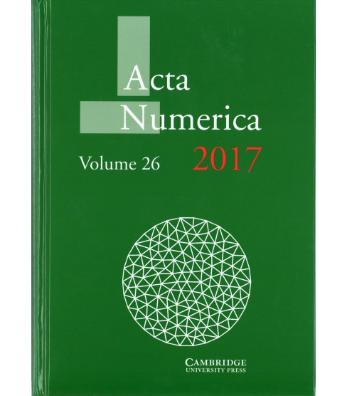 Acta Numerica 2017 (Vol 26) (Hardcover) - image 1 of 1