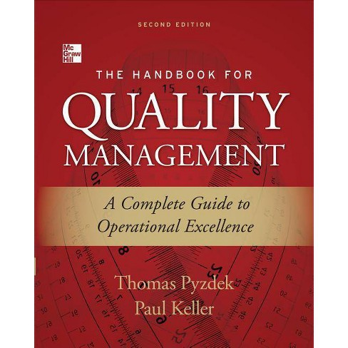 The Handbook for Quality Management - 2 Edition by  Thomas Pyzdek & Paul A Keller (Hardcover) - image 1 of 1