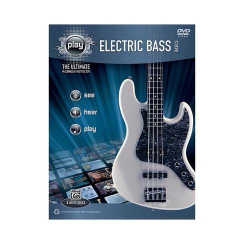 Alfred PLAY Series  Electric Bass Basics Book & DVD - image 1 of 1