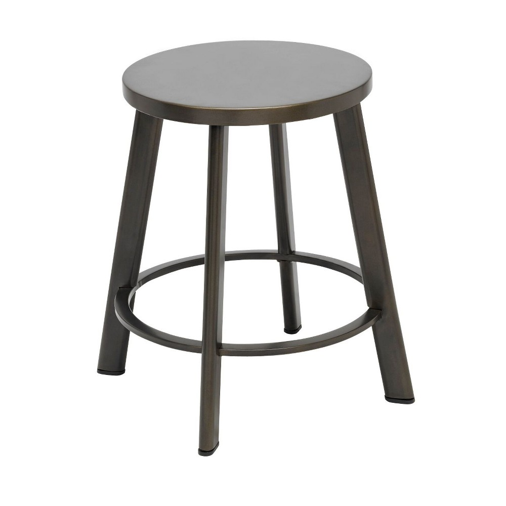 "Image of ""18"""" Metro Height Stool Steel - KFI Seating"""