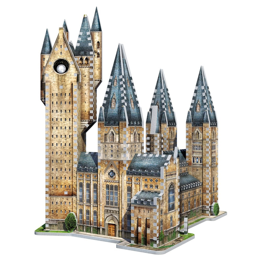 Wrebbit - 3D Puzzle Harry Potter Hogwarts Astronomy Tower, 875pc Expand your journey into the magical world of Harry Potter with Hogwart - Astronomy Tower, an 875-piece 3D puzzle from Wrebbit3D. Part of a unique and exclusive Harry Potter Hogwarts Collection, this new addition includes famous buildings of the beloved World of Harry Potter. Assembled dimensions: 15.5 inches L x 12.75 inches W x 19.25 inches H. For 14 years old to adults Choking Hazard! Not for children under 3 years old. Wrebbit3D puzzles are the largest and have the highest piece count of their kind. Snug and tight fitting pieces that are easy to handle. They are the sturdiest 3D puzzles on the market. Highest quality of design and illustration. Made in Canada from non-toxic polyethylene foam. Warning: Choking Hazard - Small parts. Not for children under 3 yrs. Gender: Unisex.