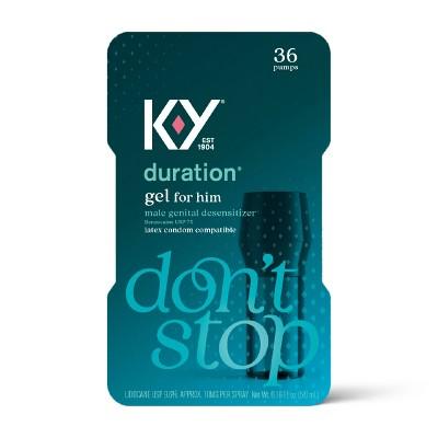 K-Y Duration Gel - 0.16oz