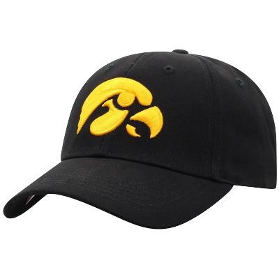 NCAA Iowa Hawkeyes Men's Structured Brushed Cotton Hat