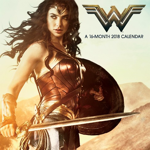 2018 Wonder Woman (Movie) Wall Calendar - Trends International - image 1 of 4