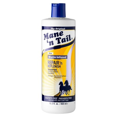 Mane 'N Tail Sulfate Free Repair 'n Replenish Shampoo - 15.2 fl oz
