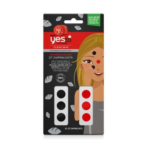 Yes To Tomatoes Detoxifying Charcoal Zit Zapping Dots Facial Treatment - image 1 of 3
