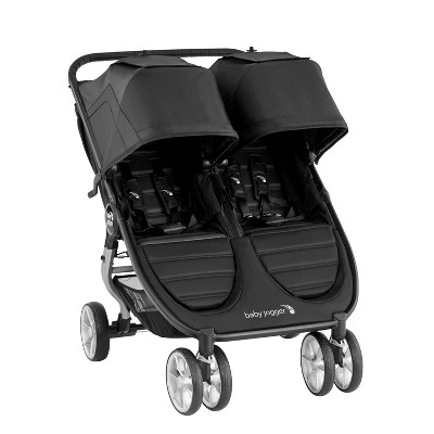 Baby Jogger City Mini 2 Double Stroller - Jet Black