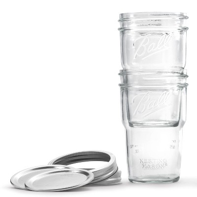 Ball 4pk Nesting Pint Jars