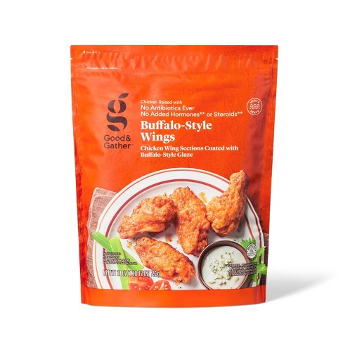 Buffalo-Style Frozen Chicken Wings - 1.75lbs - Good & Gather™ - image 1 of 2
