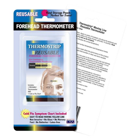 Hallcrest Thermostrip Reusable Forehead Thermometer - image 1 of 1